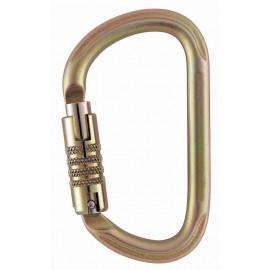 Mousqueton acier triact lock Vulcan 40kn PETZL