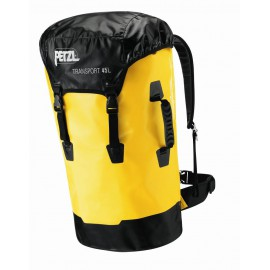 Sac transport 45l jaune PETZL
