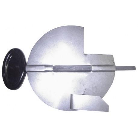 Clé de tirage émail noir 180 mm