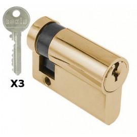 1/2 cylindre 45mm / PTT, Administration et EDF réf 056002