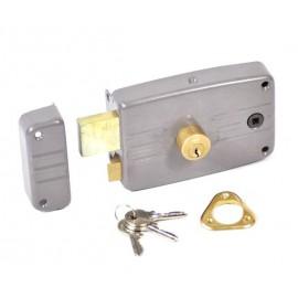 Serrure en applique à cylindre rond ECO horizontal Fouillot gauche Vachette