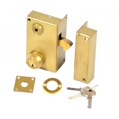 Serrure cylindre rond vega verticale mentonnet droite - Cylindre serrure dimension ...