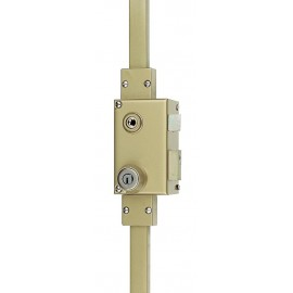 Serrure 3 points VEGA verticale fouillot droite cylindre KESO