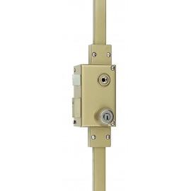 Serrure 3 points VEGA verticale fouillot gauche cylindre KESO