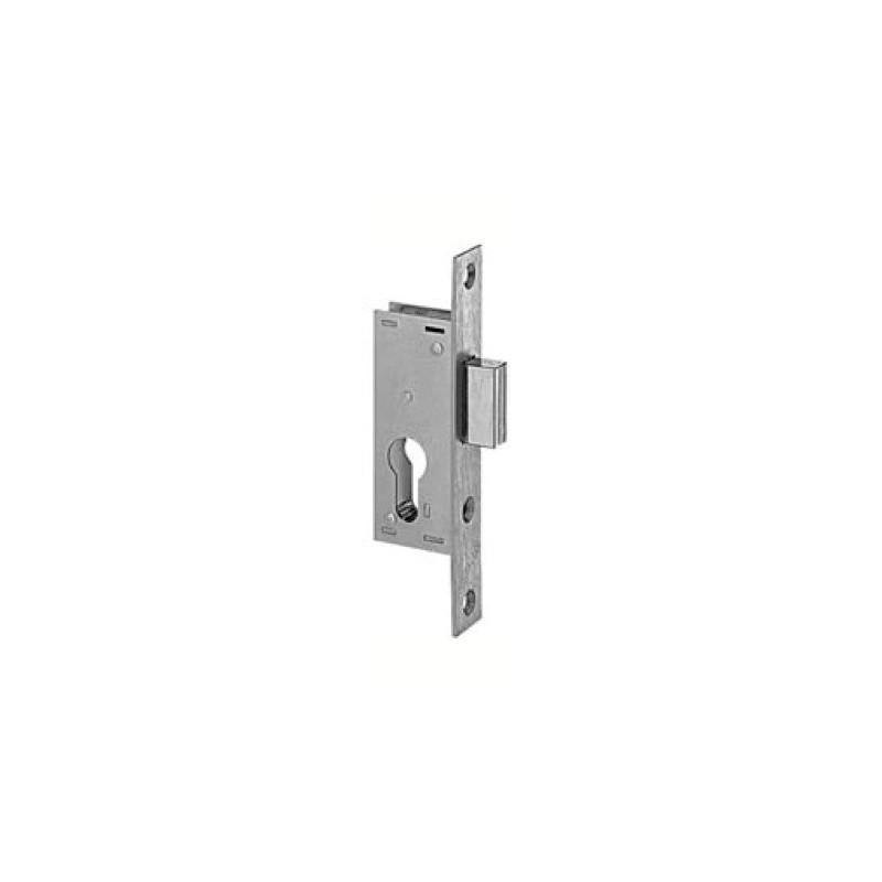 serrure pour cylindre europ en metalux p ne dormant seul petit coffre axe 21 mm. Black Bedroom Furniture Sets. Home Design Ideas