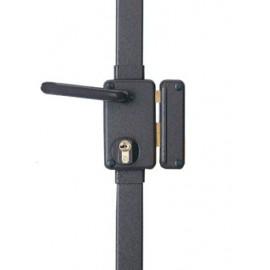Serrure 3 points pour cylindre européen BELUGA A2P* verticale fouillot marron droite
