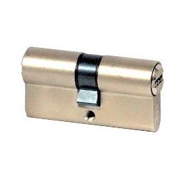 Cylindre Iseo R6 50x60 à 2 entrées nickelé
