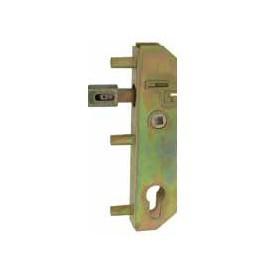 Serrure de portail à encastrer axe 40 mm TIRARD