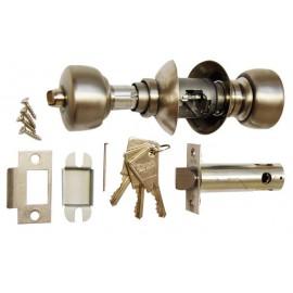 Serrure tubulaire Vachette V6500 Acier axe 63 bouton/cle