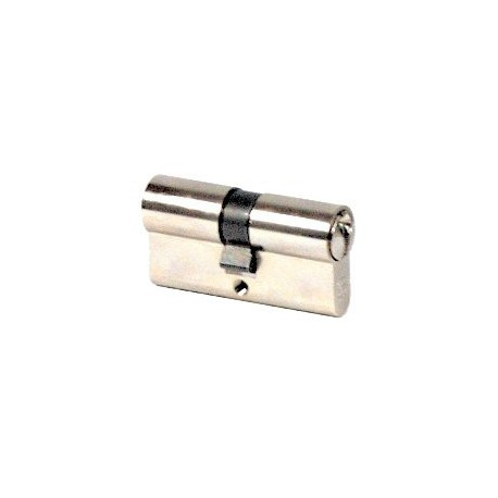 Cylindre Vachette 30x100 à 2 entrées nickelé