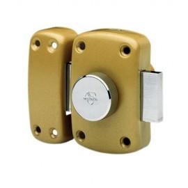 Verrou Vachette à bouton et cylindre 40 mm