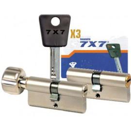 Cylindre Mul-T-Lock 7x7 33x33