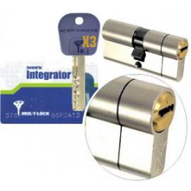 Cylindre Mul-T-Lock Integrator 33x33 auto-cassant