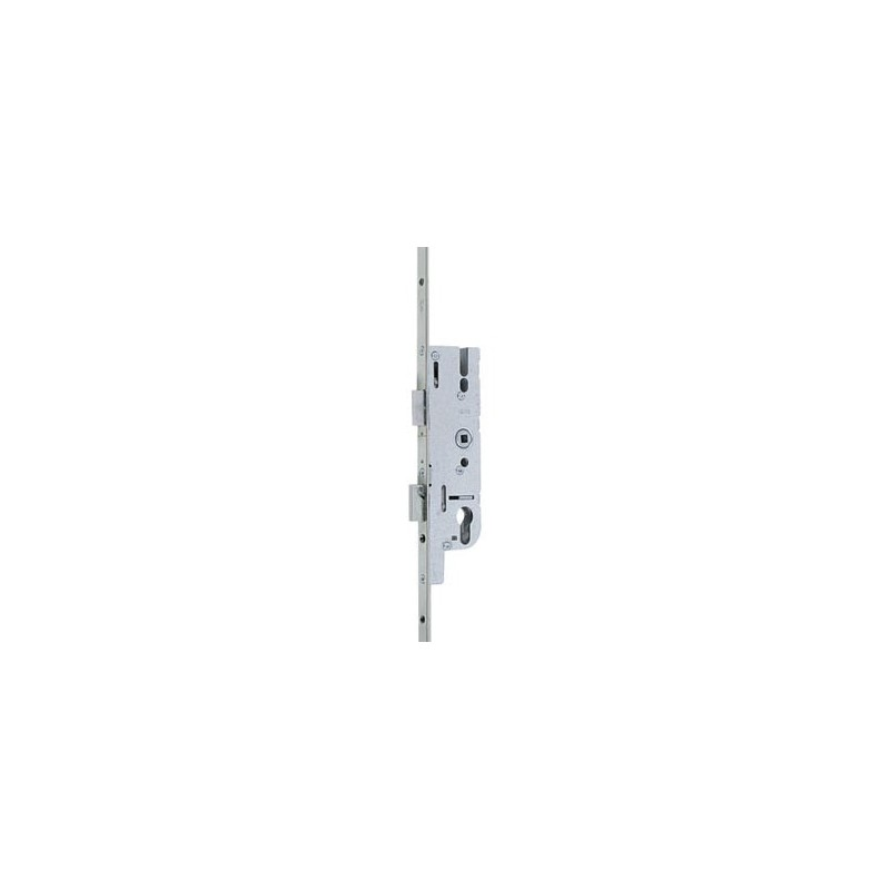 Serrure larder 3 points galets europa ferco axe 40mm d1800 - Serrure 3 points encastrable ferco ...