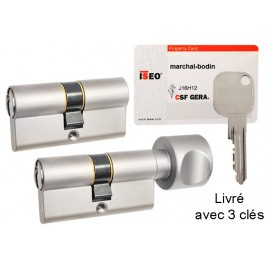 Cylindre 30X35 F9 ISEO Gera