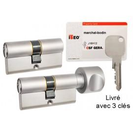Cylindre 40X40 F9 ISEO Gera
