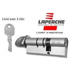 Cylindre Laperche à bouton 30x30 mm