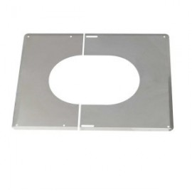 PLAQUE PLAFOND INCLINE double paroi Opsinox 125 / 180