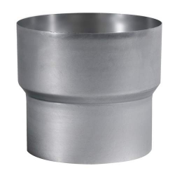 Réduction aluminiée Femelle 125 x Mâle 97