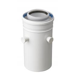 CONDUIT PRISE MESURE 250mm diamètre 80/125 mm Polypropylène/Alu