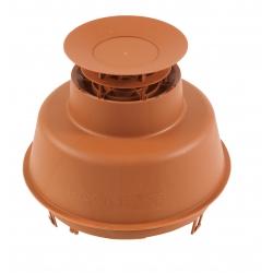 Mitron cheminée EcoNext Brun pour Polypropylène flexible diamètre 80mm