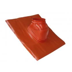 SOLIN PLOMB 5° - 25° AVEC ROTULE BRUN diamètre 125 mm