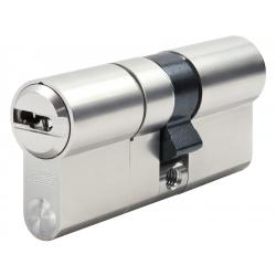 Cylindre Iseo R6 35x40 à 2 entrées nickelé