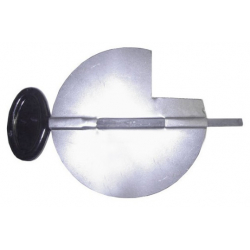 Clé de tirage émail noir 97 mm