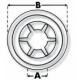 Rondelle de blocage 19 mm