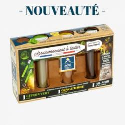 Coffret Evasion / Citron vert, Gingembre, Ail noir
