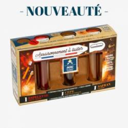 Coffret Epicurien / Piment d'Espelette, Cèpe, Safran