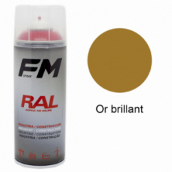 Bombe de peinture Or brillant - 400ml