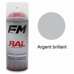 Bombe de peinture Argent brillant - 400ml
