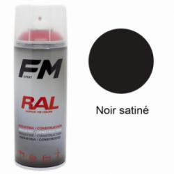 Bombe de peinture Haute Température Noir - 400ml