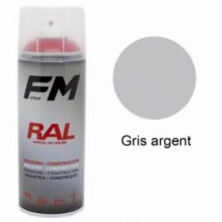 Bombe de peinture Haute Température Gris Argent - 400ml