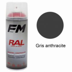 Bombe de peinture Haute Température Gris Anthracite - 400ml