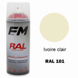 Bombe de peinture RAL 1015 Ivoir clair - 400ml