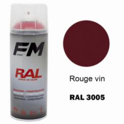 Bombe de peinture RAL 3005 Rouge vin - 400ml