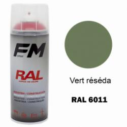 Bombe de peinture RAL 6011 Vert réséda - 400ml