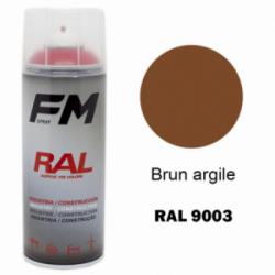 Bombe de peinture RAL 8003 Brun argile - 400ml