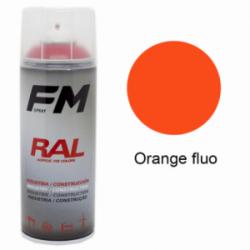 Bombe de peinture Orange fluo - 400ml