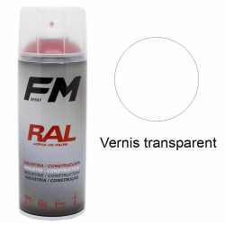 Vernis en spray Transparent brillant - 400ml