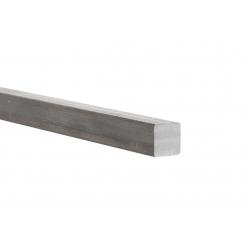 Fer carré 16x16 mm à la coupe