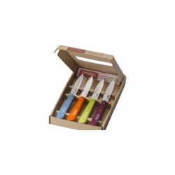 COFFRET OFFICE OPINEL INOX 4 couleurs Acidulées