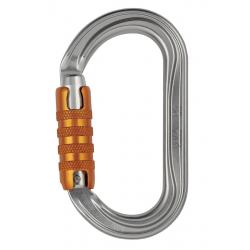 Mousqueton aluminium OK TRIACT lock PETZL M33TL