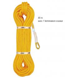 Corde BILOBA 11,5m avec 1 TERMINAISON COUSUE 40m