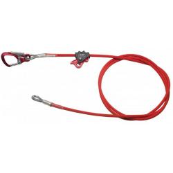 Cable Adjuster - Longe réglable armée 5m