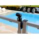 Serrure de portillon de piscine twist40 noir