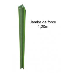 JAMBE FORCE VERT 120cm