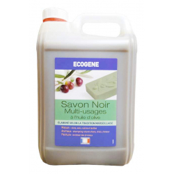 Savon noir multi-usage a l'huile d'olive - bidon 5 l